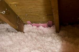 New Insulation installed in Augusta attic