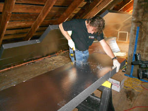 Rigid Foam Insulation from Dr. Energy Saver by Keith Trembley Home Solutions